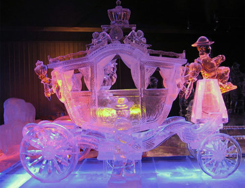 Hard Bid and Ice Sculptures