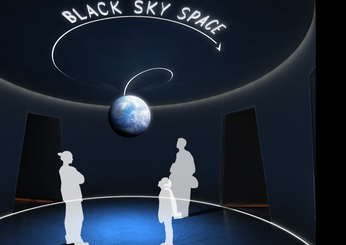 Exploration of Flight - Black Sky Gallery Project Manager
